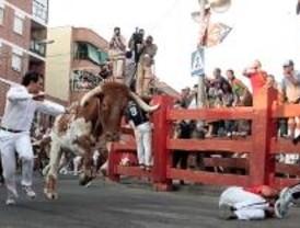 Dos heridos en el encierro más peligroso de la semana en San Sebastián de los Reyes