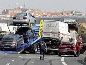 Dieciocho heridos en dos colisiones múltiples