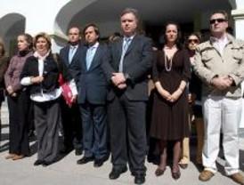 Cinco minutos de silencio por el asesinato de María Eugenia en San Sebastián de los Reyes