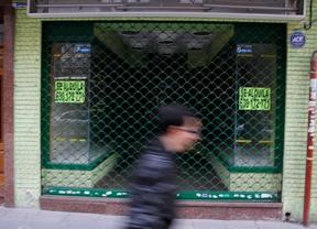 Las empresas y familias en quiebra en Madrid bajan un 38,2%