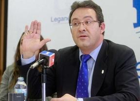Rueda de prensa del alcalde, Jesús Gómez, y tenientes de alcalde de Leganés en la que asegura que no está imputado.