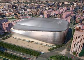 Infografía del proyecto de ampliación del estadio Santiago Bernabéu.