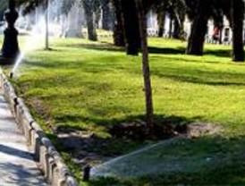 La Comunidad lanza una campaña para el 'riego inteligente' de parques y jardines