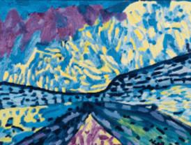 'El Águila' acoge obras de artistas con síndrome de Down