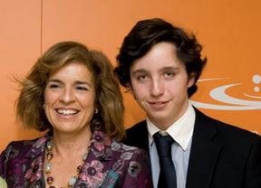 Francisco Nicolás junto con Ana Botella