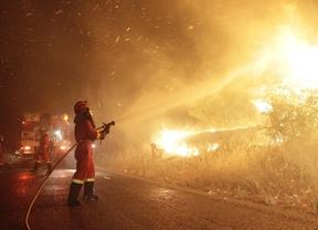 Sarasola insiste en que hay un pirómano detrás de los incendios de la Sierra Oeste