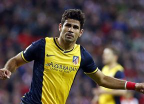 Diego Costa sostiene el liderato del Atlético de Madrid
