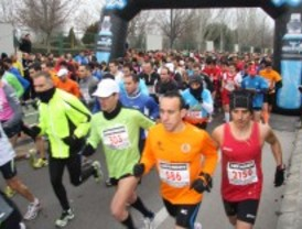 Miles de personas participan en la XIII Media Maratón Ciudad de Getafe