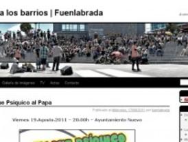 Aparece una web falsa del Ayuntamiento de Fuenlabrada