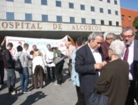 El alcalde de Alcorcón exige a Aguirre que construya el Centro de Especialidades prometido