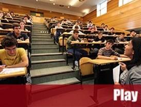 Los alumnos se enfrentan a sus primeros examenes de Selectividad