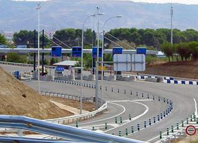 Peaje Alcalá de Henares autopista radial 2