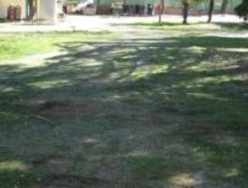Comienza la rehabilitación del parque Mari Luz Nájera