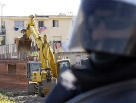 Las excavadoras regresan a la Cañada Real