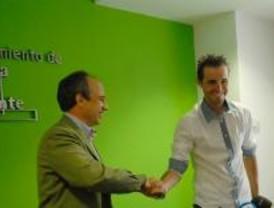 Samuel Sánchez acude a Boadilla a la firma del Convenio del Criterum de la ACP