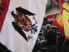 La 'marcha por España' sale de Ferraz