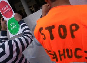 Protesta antidesahucios (archivo)