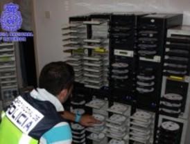 Desmantelada una red de piratería audiovisual