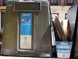 El Ayuntamiento crea un sistema especial para la recogida de cartones