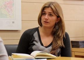 Raquel López concejala del Ayuntamiento de Madrid y futura candidata a la alcaldía por IU.