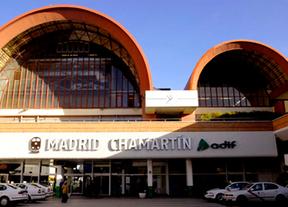 Fachada de la estación de Chamartín