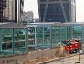 El intercambiador de plaza Castilla empezará a funcionar después del verano