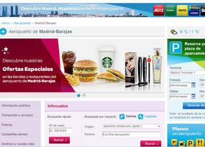 Madrid-Barajas, a un solo 'click' de distancia