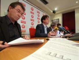CCOO y UGT exigen cambiar unos presupuestos 'pro privatización' y antisociales