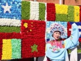 Un desfile de naciones en Alcobendas