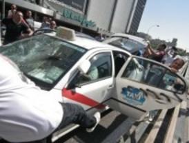 La Policía deja en libertad con cargos a las cinco personas detenidas en la manifestación de taxistas