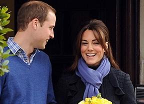 Los duques de Cambridge, padres de un niño
