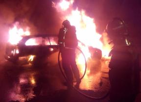 Arde un coche en la A-1 a la altura de San Sebastián de los Reyes