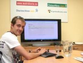 Ángel David Rodríguez, el español más rápido de la historia, chateó en Madridiario