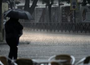 Vuelven las tormentas a Madrid este lunes