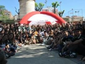 Jóvenes madrileños realizan las últimas pruebas físicas para participar en Madrid Rumbo al Sur