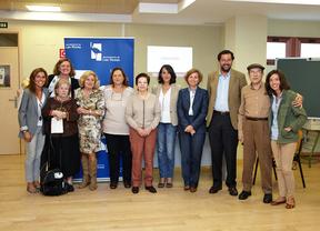 Anabel Martín, directora general de Voluntariado de la Comunidad de Madrid, visita el PIV Las Rozas