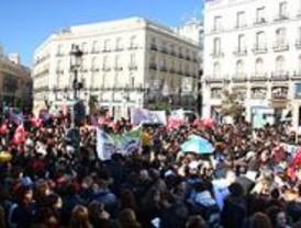Los trabajadores sociales en huelga por el incumplimiento de su Convenio Colectivo