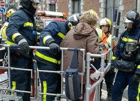 Un incendio en la Plaza de la Provincia se cobra la vida de una persona