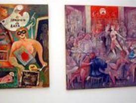 Una exposición de artes plásticas rinde homenaje a La Movida Madrileña