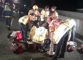 Tres fallecidos en las carreteras madrileñas en menos de diez horas