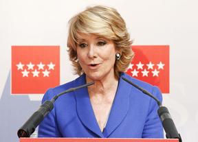 Aguirre defiende la gestión de Botella y los gastos de Gallardón