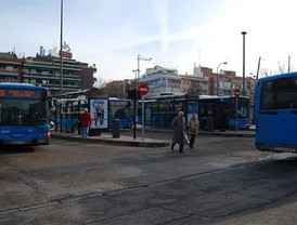 Un nudo de transportes entre San Blas y Ciudad Lineal