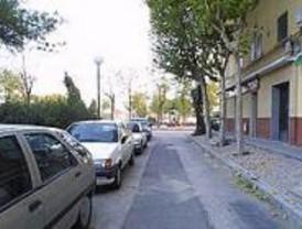 Trabajos de mejora en las aceras de las calles Gesaleico, Tulga y Suntilla
