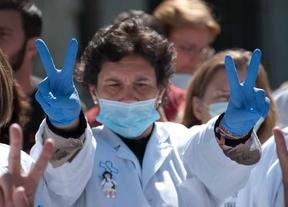 Protesta contra la privatización de hospitales en Madrid (archivo)