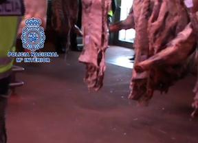 Detenidos dos empresarios por extorsionar a carniceros de todo Madrid
