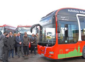 Valdemoro incorpora el primer autobús híbrido al transporte urbano