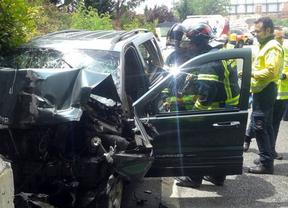 Fallece un hombre tras empotrar su coche contra el muro en Avenida de América