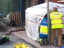 Muere un obrero al caer desde un andamio en Villaverde