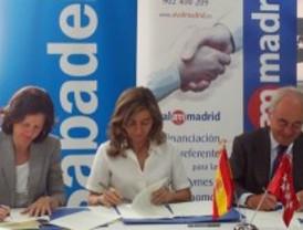Avalmadrid y Banco Sabadell financiarán a pymes y autónomos con 30 millones de euros
