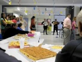 Día de fiesta en el albergue Puerta Abierta